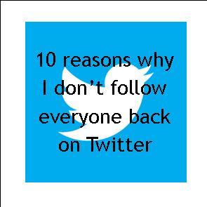 Twitter follow