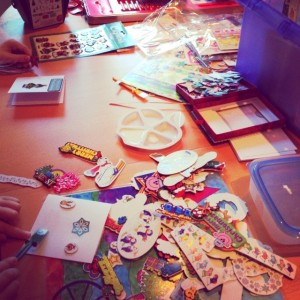 Cardmaking with Craftyguidelets