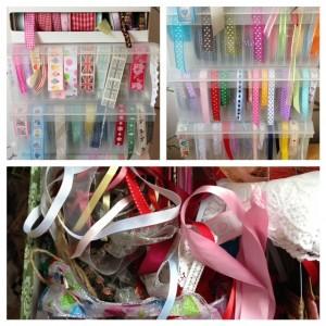 ribbon organisers