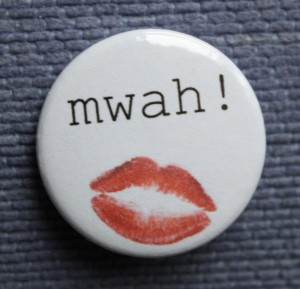 Mwah! badge