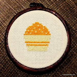 cake cross stitch
