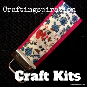 craft kits keyring