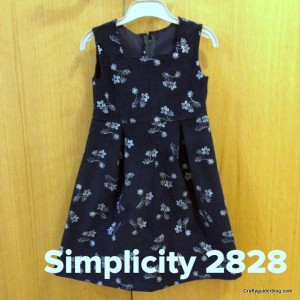 simplicity 2828 title dress