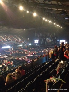 Girlguiding Big Gig before