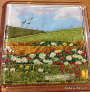 Sally Holman landscape coaster