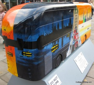 24 seven bus sculpture