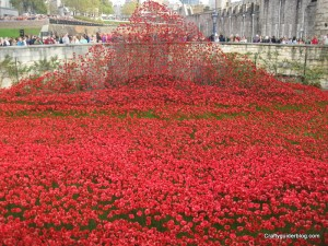 poppy cascade tower of london