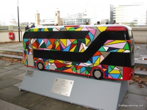 spectrum bus sculpture