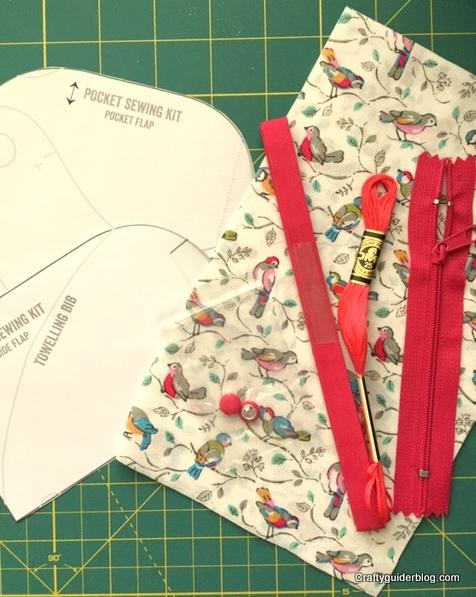 Cath Kidston Sewing Book kit