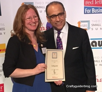 Craftyguider meets Theo Paphitis #sbsevent2015