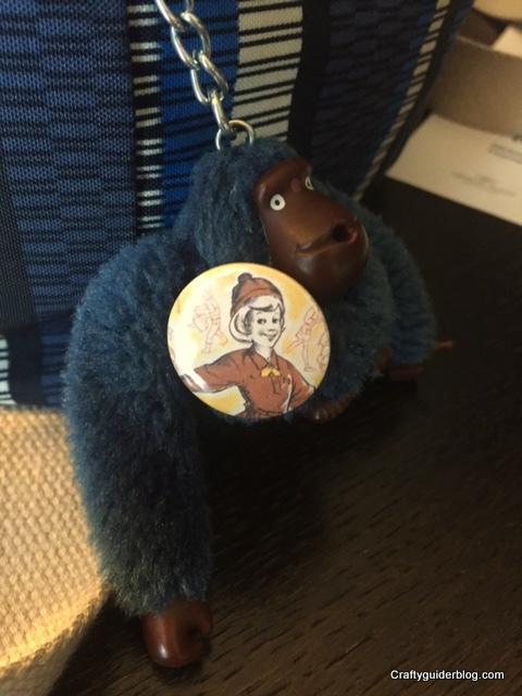 Craftyguider monkey #SBSevent2015