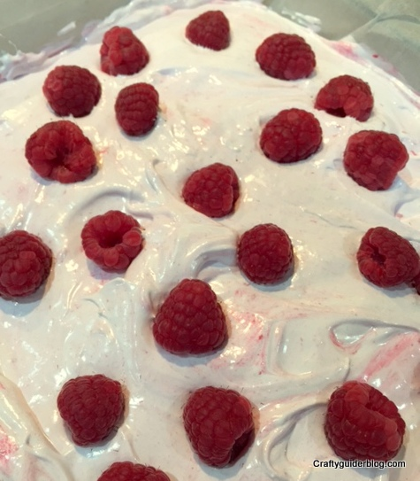 sweets made simple raspberry marshmallow setting