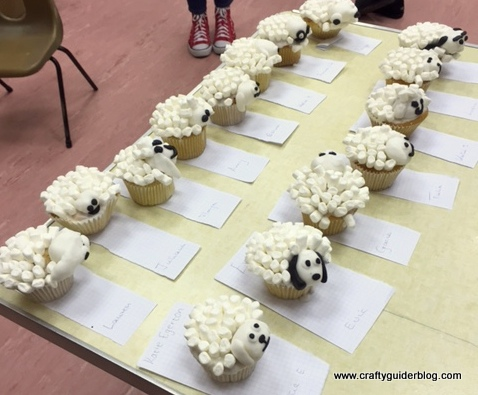 Chinese new year sheep cupcakes Guides