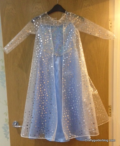 Elsa dress completed