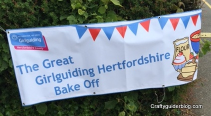 Girlguiding Anglia Bake Off County finals