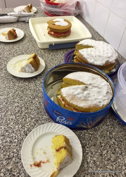 Girlguiding Anglia Bake Off Unit