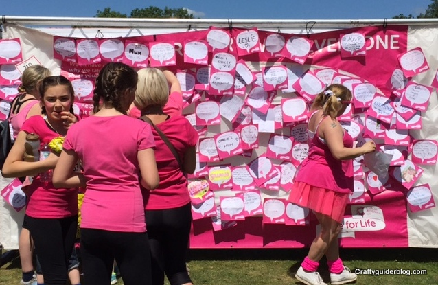 Race For Life inspirational messages