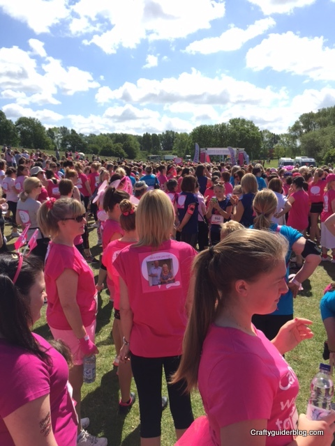 Race For Life start inspirational women