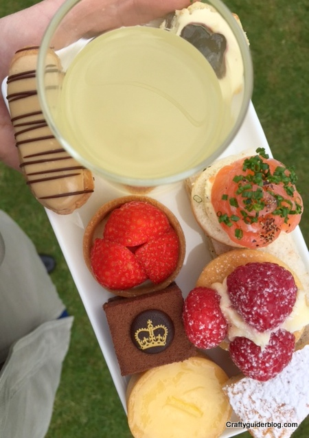 WI Centenary Garden Party Food