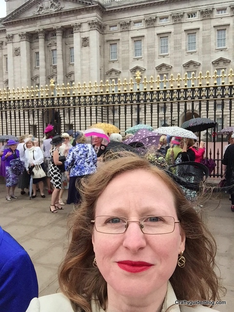 WI Centenary Garden Party waiting at Buckingham Palace
