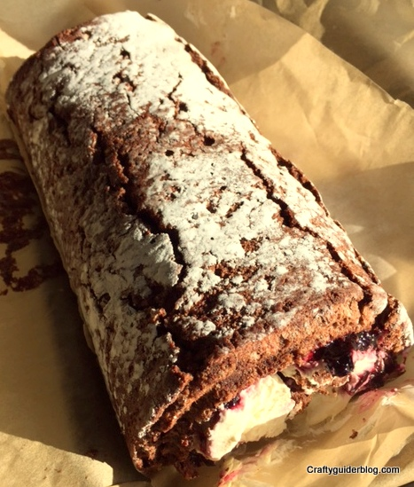 Great British Bake Off Cake Roulade