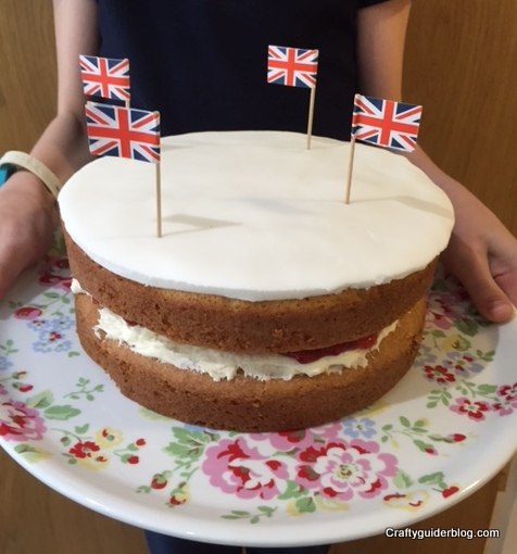 Great British Bake Off Victoria Sponge