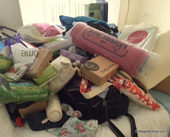 Getting Organised Bedroom Closet Before